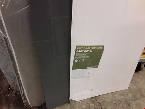 Lot 740 LOT OF 5 GOOD HOME COMPACT LAMINATE BACK PANELS - APPROXIMATELY 2000X600MM