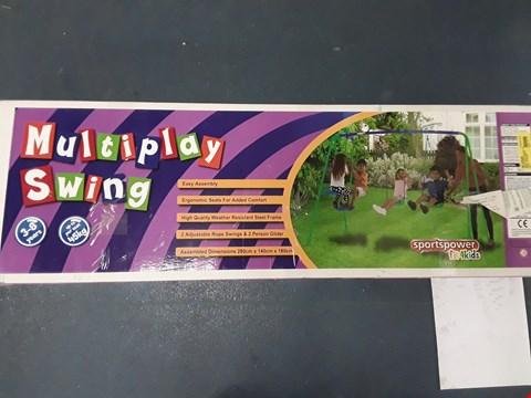 Lot 298 BOXED MULTIPLAY SWING