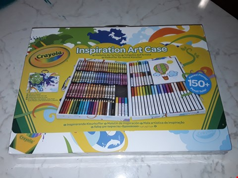 Lot 207 SEALED CRAYOLA 150 PIECE INSPIRATION ART CASE