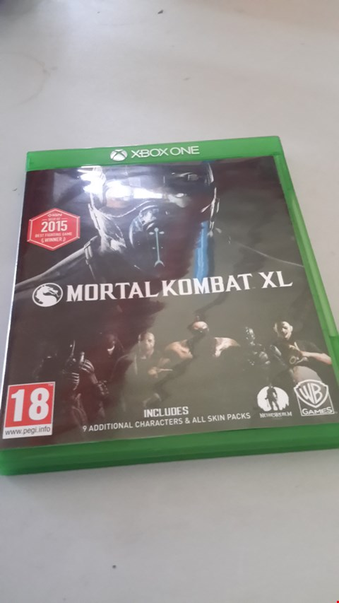 Lot 9049 MORTAL KOMBAT XL FOR XBOX ONE