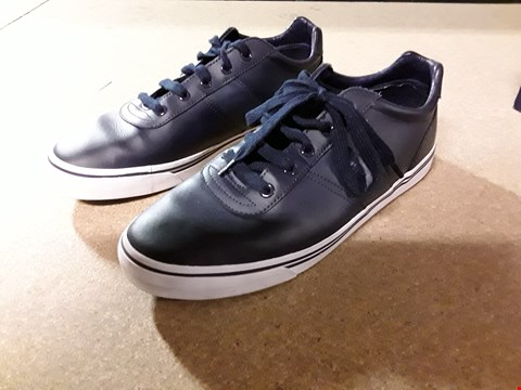 Lot 824 POLO RALPH LAUREN HANFORD NAVY SHOES SIZE 10 RRP £75