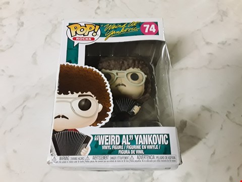 Lot 214 POP ROCK'S WEIRD AL YANKOVIC VINYL FIGURINE