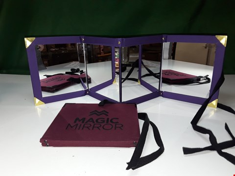 Lot 1278 2 X MAGIC FOLDING MIRROR