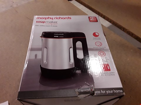 Lot 789 MORPHY RICHARDS SOUP MAKER COMPACT