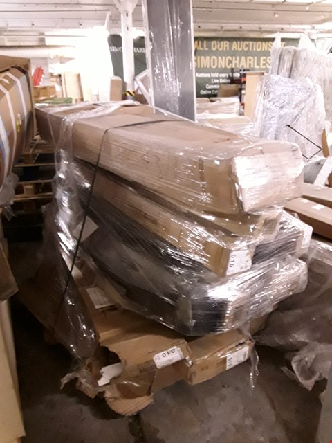 Lot 690 PALLET OF ASSORTED BED PARTS