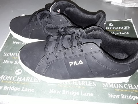 Lot 9006 FILA FOOTWEAR IN BLACK UK SIZE 8