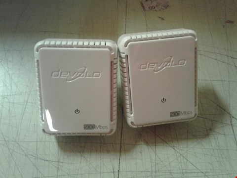 Lot 4268 DEVOLO POWER LINE DLAN 500 DUO STARTER KIT