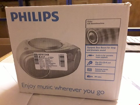 Lot 5004 PHILIPS CD SOUNDMACHINE