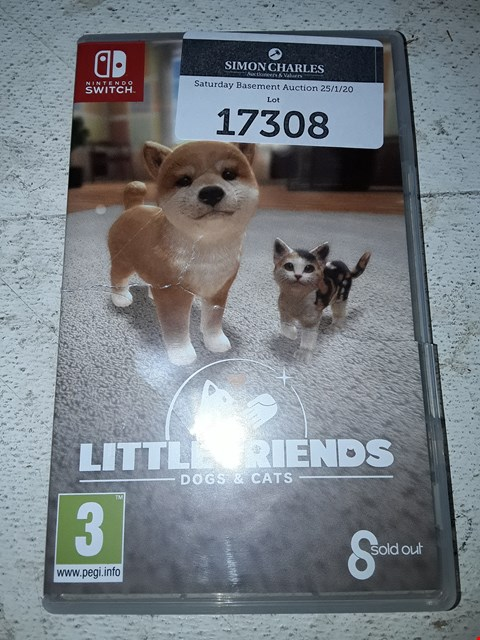 Lot 17308 LITTLE FRIENDS: DOGS&CATS FOR NINTENDO SWITCH