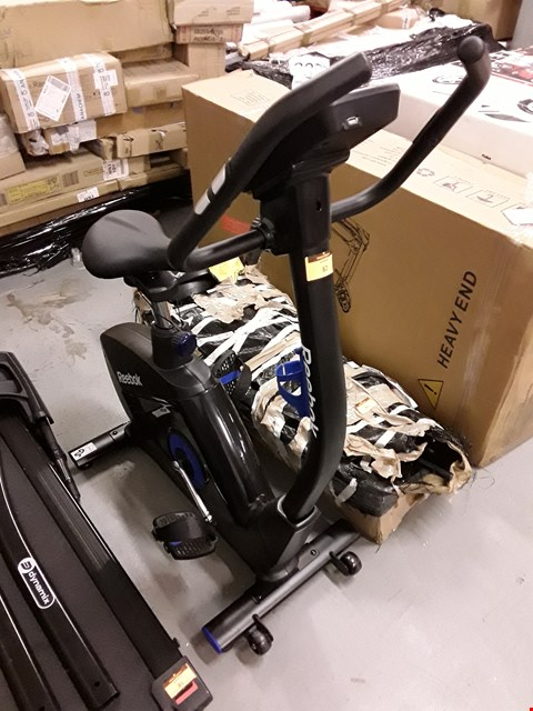 Lot 82 REEBOK GB60 ONE SERIES EXERCISE BIKE RRP £759.99