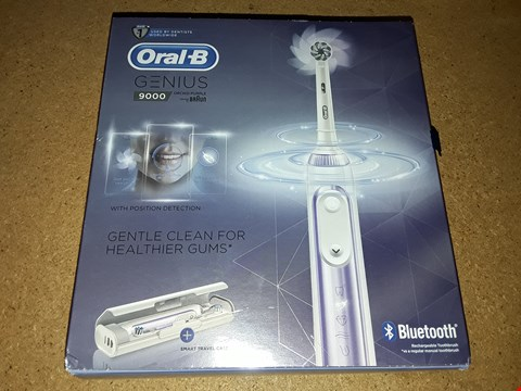 Lot 8038 BOXED ORAL-B GENIUS 9000 ELECTRIC TOOTHBRUSH