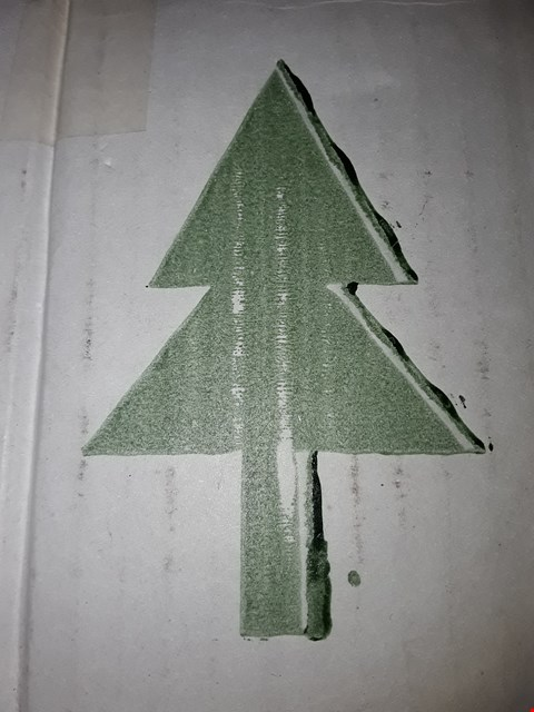 Lot 545 THE BENROSS CHRISTMAS WORKSHOP 120 CM/ 4 FT FIBRE OPTIC CHRISTMAS TREE, GREEN