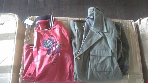 Lot 7018 BOX OF APPROX 19 ASSORTED LADIES JACKETS