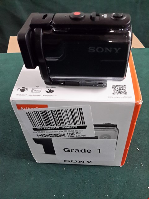Lot 1079 SONY HDR-AS50 ACTION CAMERA RRP £230