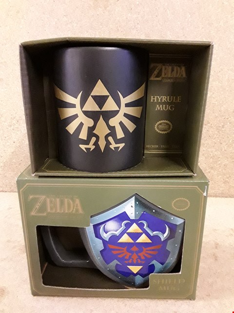 Lot 306 2 BRAND NEW ZELDA MUGS