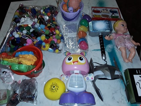 Lot 230 LARGE QUANTITY OF ASSORTED TOY ITEMS