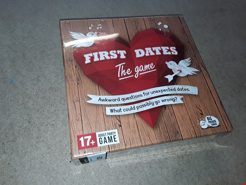 Lot 2139 FIRST DATES THE GAME