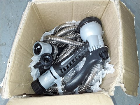 Lot 652 DESIGNER STAINLESS STEEL HOSE AND NOZZLE