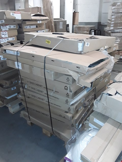 Lot 3049 PALLET OF ASSORTED FLAT PACK KITCHEN ITEMS  RRP £846.00
