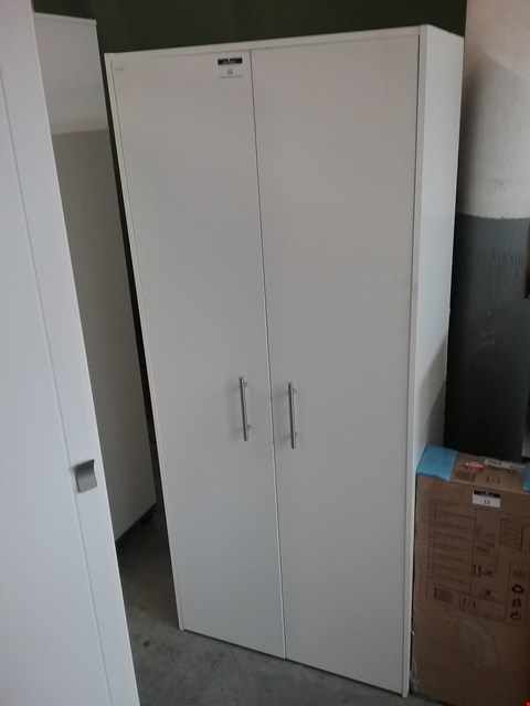 Lot 12 2 DOOR WARDROBE IN WHITE
