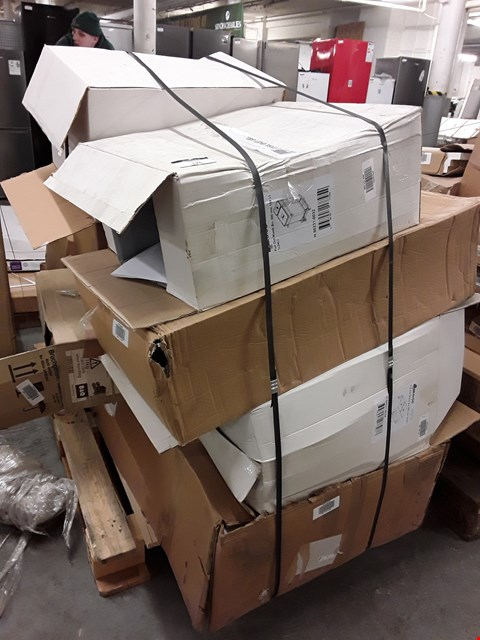 Lot 176 PALLET OF ASSORTED FLAT PACK KITCHEN ITEMS  RRP £1939