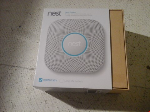 Lot 21 NEST SMOKE AND CARBON MONOXIDE ALARM