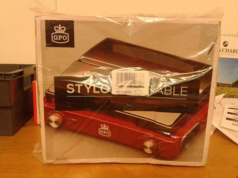 Lot 2052 GPO STYLO TURNTABLE RRP £50