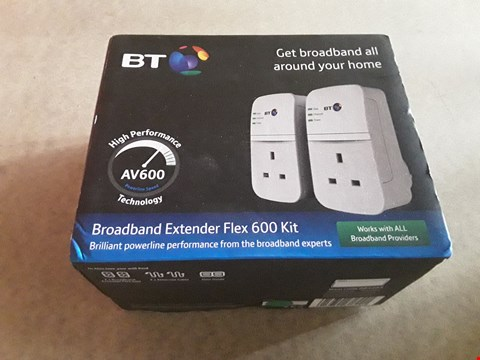 Lot 15 BOXED BT BROADBAND EXTENDER 600 KIT