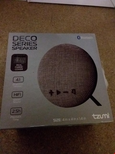 "Lot 1432 DECO 4"" BLUETOOTH SPEAKER"