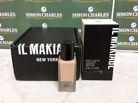 Lot 12035 BOXED IL MAKIAGE STYLE WOKE UP LIKE THIS FLAWLESS BASE FOUNDATION