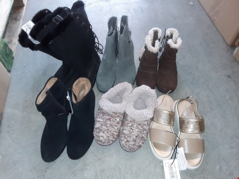 Lot 329 LARGE QUANTITY OF ASSORTED FOOTWEAR IN VARIOUS SIZE