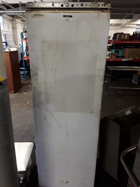 Lot 15053 IMPERIAL WHITE COMMERCIAL TALL FRIDGE