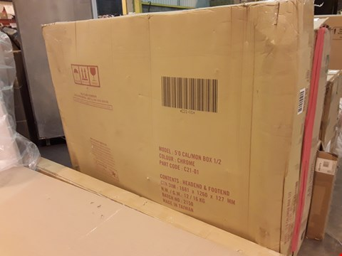 Lot 526 BOXED 5FT BED FRAME (2 BOXES)