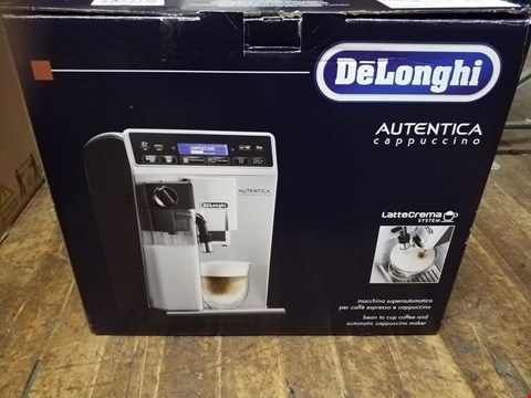 Lot 451 DELONGHI AUTENTICA ETAM29.660.SB BEAN TO CUP COFFEE MACHINE RRP £510