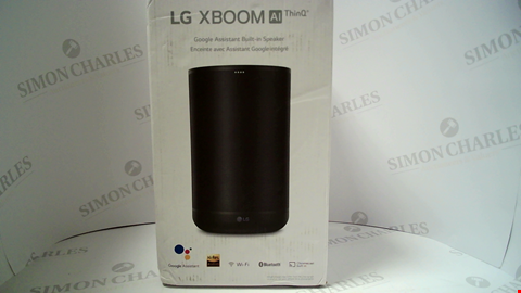 Lot 18115 LG XBOOM AI THINQ GOOGLE ASSISTANT BUILT IN SPEAKER