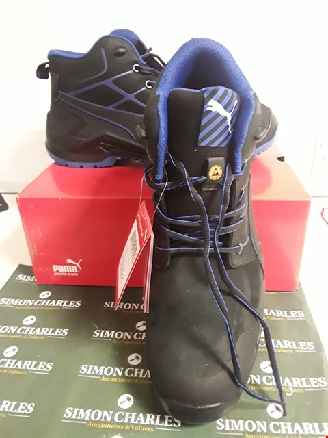 Lot 3097 DESIGNER BOXED PAIR OF PUMA SAFETY FOOTWEAR SIZE UK 14
