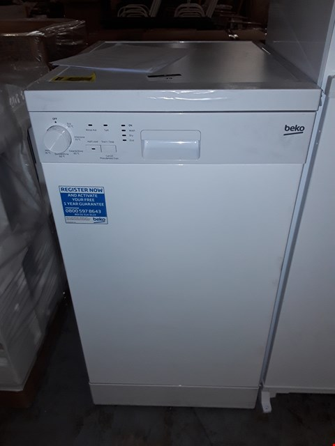Lot 79 BEKO FREE STANDING SLIM LINE DISHWASHER RRP £238
