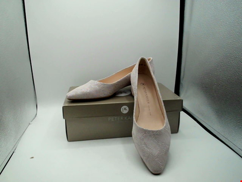 Lot 1126 BOXED PAIR OF DESIGNER PETER KAISAR SHOES - UK SIZE 6