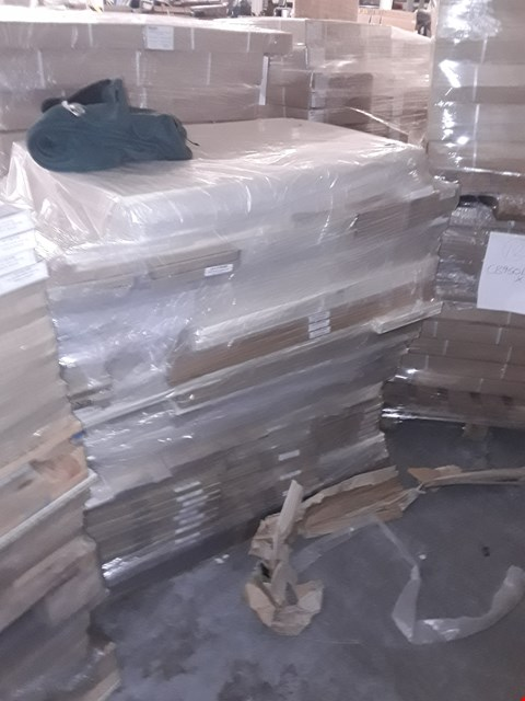 Lot 3102 PALLET OF BRAND NEW ASSORTED FLAT PACK KITCHEN ITEMS TO INCLUDE 283 DRAWER FRONT, 300L CORNER BASE, 600 APPLIANCE DOOR