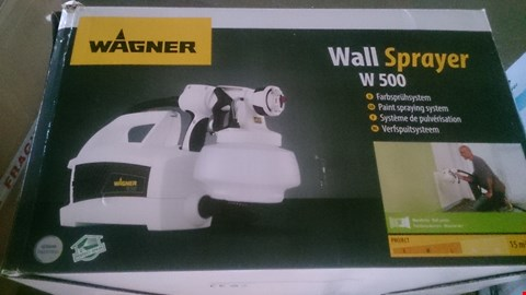 Lot 1062 BOXED WAGNER WALL SPRAYER W 500
