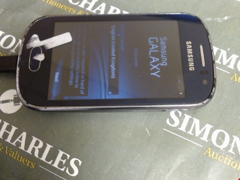Lot 595 SAMSUNG GALAXY FAME MOBILE PHONE