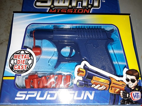 Lot 537 SWAT ) SPUD GUN LOT OF 4