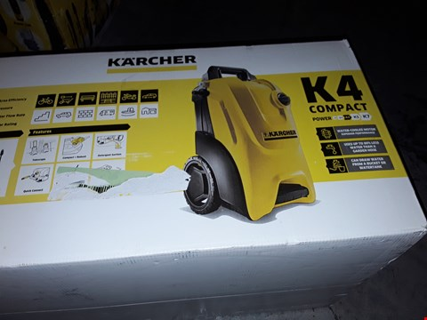 Lot 12577 KARCHER K4 COMPACT PRESSURE WASHER