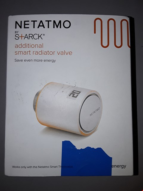 Lot 795 NETATMO NAV-UK ADDITIONAL SMART RADIATOR VALVE