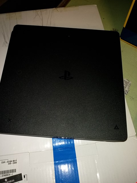 Lot 4582 SONY PS4 CONSOLE