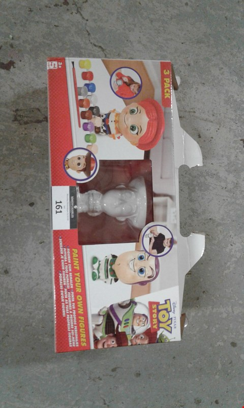 Lot 161 3 PACK TOY STORY PAINT YOUR OWN FIGURE SET