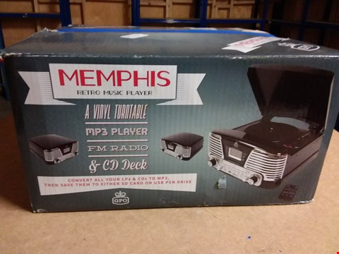 Lot 935 MEMPHIS RETRO MUSIC PLAYER