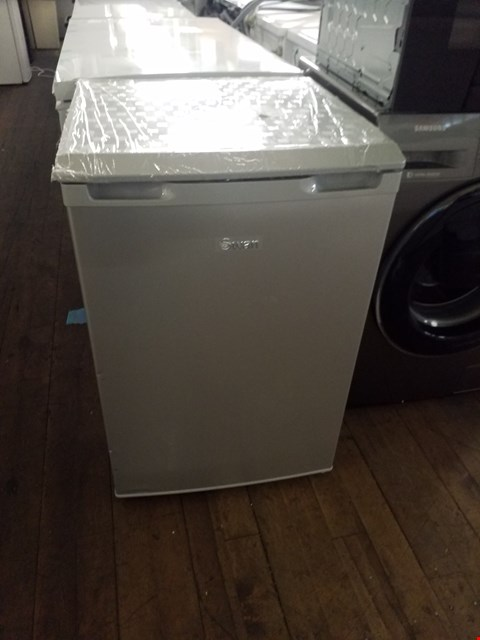 Lot 8532 SWAN SR70180S SILVER UNDER COUNTER FREEZER  RRP £179.99