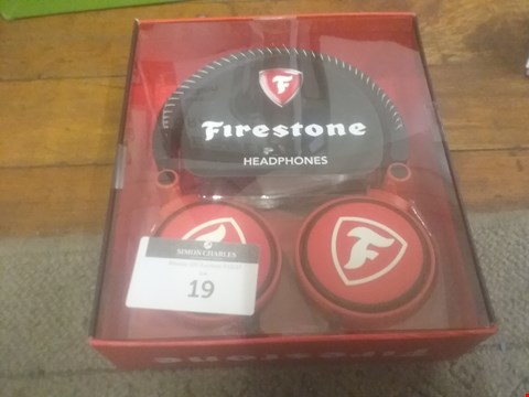 Lot 19 BOXED FIRESTONE HEADPHONES