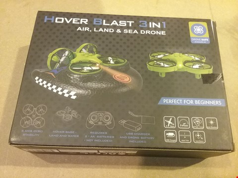 Lot 6363 HOVER BLAST 3IN1 AIR, LAND AND SEA DRONE